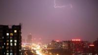 北京市发布雷电黄色预警并伴有7级以上短时大风