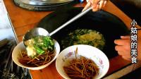 安徽阜阳:摄影师亲自下厨,做两盆鸡蛋汤泡馓子,真会吃