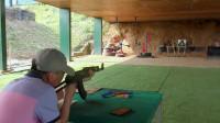 【原创】四五国际射击场 东南亚最大的商业靶场 去老挝万象玩真枪实弹