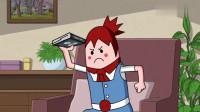 搞笑吃鸡动画:萌妹学习吃鸡指南,毒圈加轰炸区你还闯进去,是不是傻?