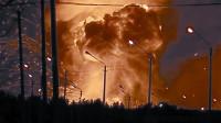 轰的一声巨响,俄罗斯远东重地升起蘑菇云,大火烧了整整10天