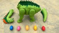 第189集 组装恐龙玩具,汽车自卸车和尖叫鸡送回恐龙蛋,婴幼儿宝宝玩具过家家游戏视频H1069