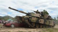 小车私停军用通道,部队40吨坦克将其碾碎,提出15万元赔偿被拒绝