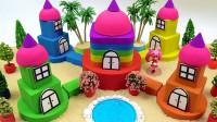 太空沙制作美少女的梦幻城堡
