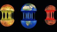 8大星球的颜色,为什么不一样?