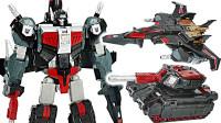变形金刚动漫泰坦归来4领袖级双形态黑影出现 机器人变形玩具