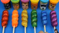 培乐多棉花糖制作冰淇淋,惊喜玩具奇蛋,玩具