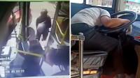 怒!男子未赶上公交搭出租追上 西瓜砸头拳打太阳穴打晕司机