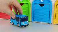 四款变形汽车和警车珀利的儿童趣味玩具