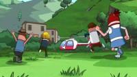 搞笑吃鸡动画:沙博士团队改进直升机太复杂,车神瓦特操作不来直接投诉