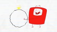 搞笑铅笔动画,铅笔人被小黄人整蛊