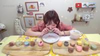 大胃王木下佑香:从韩国买了好吃又可爱的马卡龙!