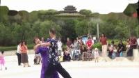 诸城中天炫舞团队交谊舞慢四【胡琴对我说】视频制作蓝蓝