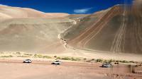 侣行:穿越沙漠,270从平原直接开到3700米的山头,一下子就到了冬天!