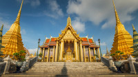 这座寺庙用黄金打造,连厕所都是金的,重点是游客免费!