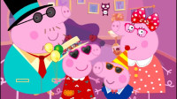 小猪佩奇儿童小游戏:小猪佩奇一家的新衣服,乔治的帽子真好笑!小猪佩奇第六季