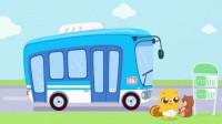 贝瓦学英语:嗨,小汽车  02公共汽车