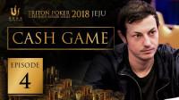 德州扑克现金桌 2018传奇扑克4/7 3000$/6000$