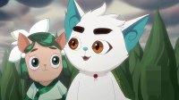 京剧猫:大飞找到了白糖,果儿看到村庄被毁了,伤心地哭了!