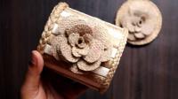 生活小妙招,用麻绳和木棍制作首饰盒的方法,美观又实用!