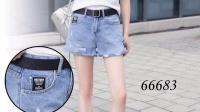 来8服饰538期品牌专柜夏季牛仔短裤短裙组合