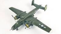 SH182 利华48比例 B-25J 米歇尔 延时制作视频