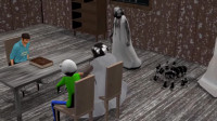 巴尔迪在婚礼上急忙逃走,恐怖奶奶开着直升机来追了