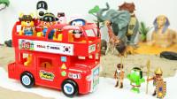 小企鹅PORORO乘坐大巴车去环游世界