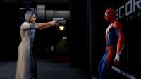 蜘蛛侠 第二十四期 3 银貂帮助蜘蛛侠进入工厂,准备和心魔马丁进行最后的决战。