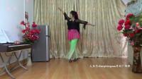 zhanghongaaa健身舞蹈我想回拉萨原创