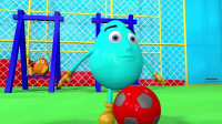 奇趣蛋认识颜色和各种球类