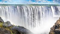 维多利亚瀑布:赞比亚标志性大瀑布,体验全球最危险的泳池