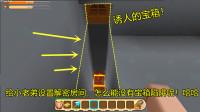 迷你世界:小晓给小老弟量身定做的房间,最后怎能少了宝箱陷阱呢