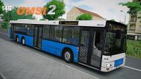 巴士模拟2 Liestal v2.1 8路 司机师傅被围攻 OMSI2