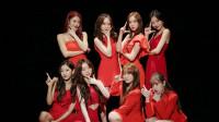 女团Lovelyz回归接力舞蹈版MV首播,甜美的红衣梨子