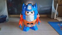 小津的变形金刚玩具视频—官方联名合作向产品-土豆先生擎天柱