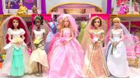 越看越精彩!芭比娃娃时装周选秀,哪一套衣服最闪亮登场呢?