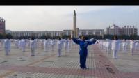视频制作 萱子;通辽市老年体协健身操工委举办'百城千村'健身气功展示活动