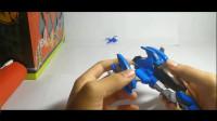 【王某玩玩具】铠甲勇士刑天飞行器之飞影驹