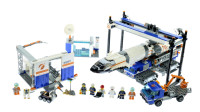 乐高城市工程作业车系列60229火箭的组装和运输积木套装