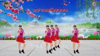 阳光美梅原创广场舞【幸福跳起来 】欢快健身舞附分解教学及背面演示-编舞:美梅