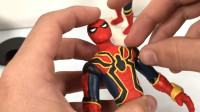 手办:用软泥装扮打造一个帅气的三代蜘蛛侠