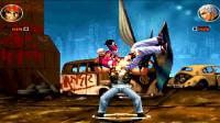 拳皇乱斗:七枷社与拉尔夫的另类超杀PK战,拳皇第一硬汉争夺赛