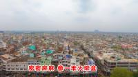 高空360度俯拍印度首都,楼房密密麻麻没绿化,算几线城市