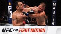 UFC238 纯格斗慢镜 爆裂的对决 武术家的风范