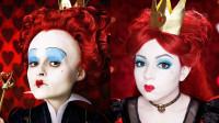 国外美女仿妆秀:化妆打扮成的红皇后你觉得像吗?