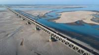 """印度耗时16年""""超级大桥"""",使用期限120年,网友:继续吹!"""