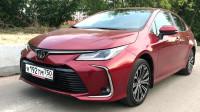 新买的2019款丰田卡罗拉到货,开车跑一圈,才知道啥叫买值了!