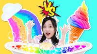 彩虹泡澡球vs冰淇淋泡澡球!一起来DIY超治愈的奇妙泡泡沐浴球吧!