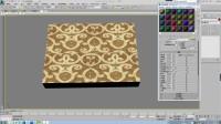 3dmax材质置换贴图用法和制作方法 周贤学堂